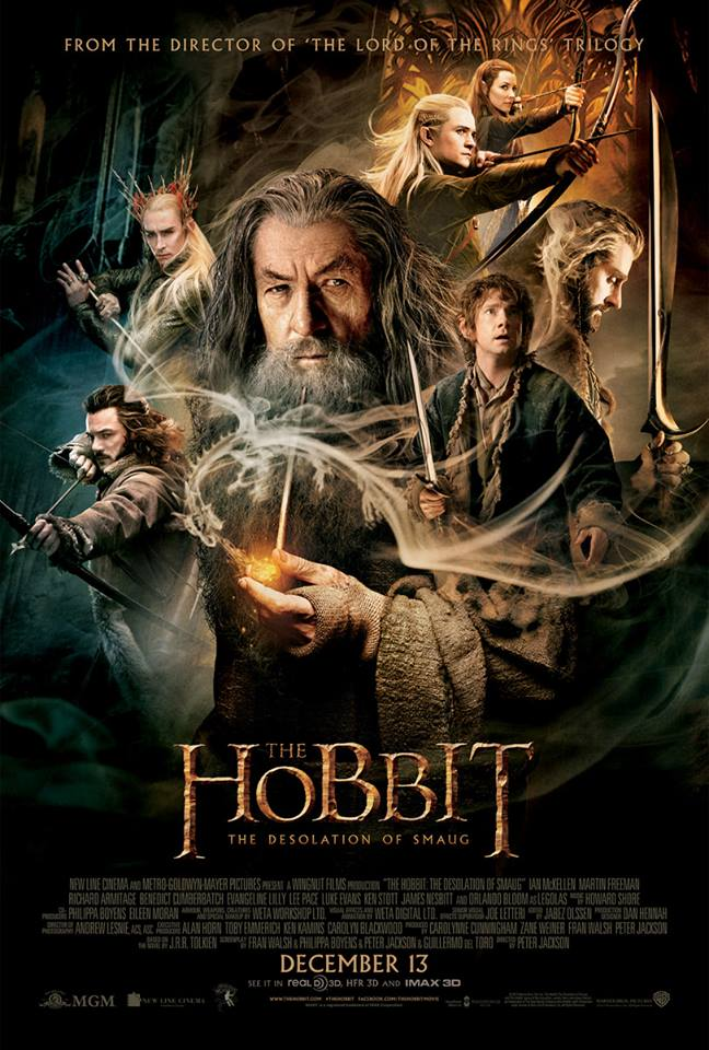 TheHobbit - The Desolation of Smaug Poster
